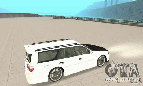 Nissan Stagea GTR for GTA San Andreas side view