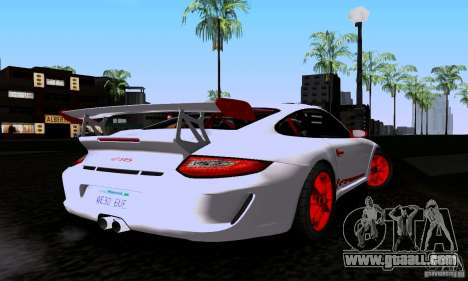Porsche 911 GT3 RS for GTA San Andreas left view