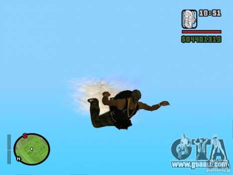 The new parachute for GTA San Andreas forth screenshot