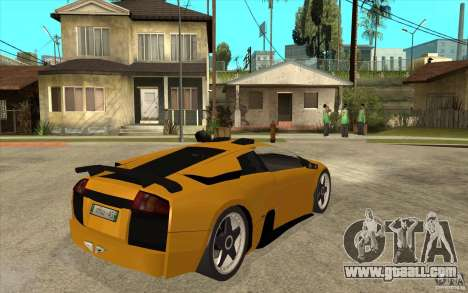 Lamborghini Murcielago for GTA San Andreas right view