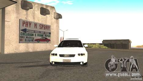 Audi A3 1.8T 180cv for GTA San Andreas left view