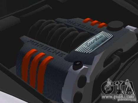 Porsche Cayenne Turbo S for GTA Vice City upper view