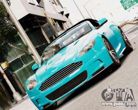 Aston Martin DBS Volante 2010 v1.5 Diamond for GTA 4