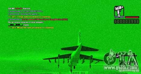 On-board computer Hydra v1.0a for GTA San Andreas second screenshot