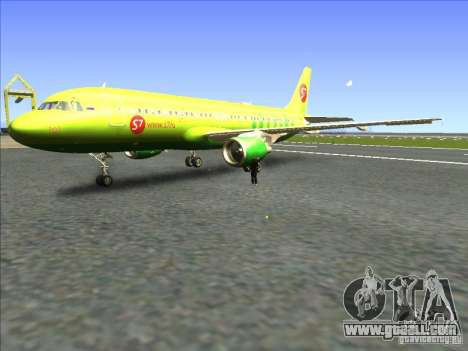 Airbus A-320 S7Airlines for GTA San Andreas