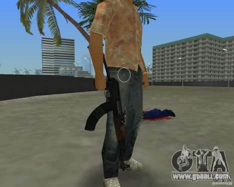 AKS-74 for GTA Vice City third screenshot