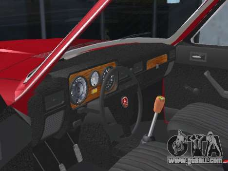 GAZ 24-12 v 2. for GTA San Andreas inner view