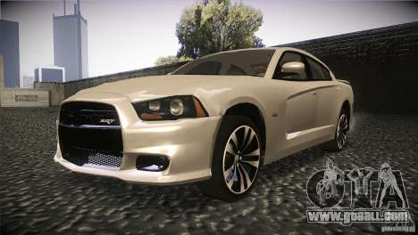 Dodge Charger SRT8 2012 for GTA San Andreas