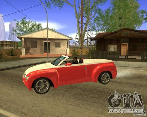 Chevrolet SSR for GTA San Andreas left view