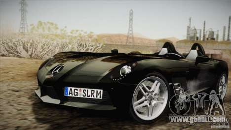 Mercedes-Benz SLR Stirling Moss 2005 for GTA San Andreas side view