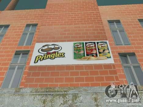 Pringles Factory for GTA San Andreas forth screenshot