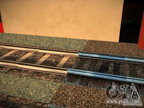 New Rails for GTA San Andreas third screenshot