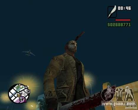 Jason Voorhees for GTA San Andreas forth screenshot