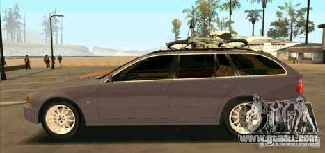 BMW 525 Touring V2 for GTA San Andreas left view