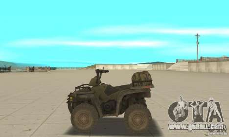 New Atv for GTA San Andreas left view