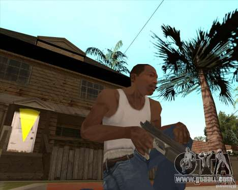 CoD:MW2 weapon pack for GTA San Andreas seventh screenshot