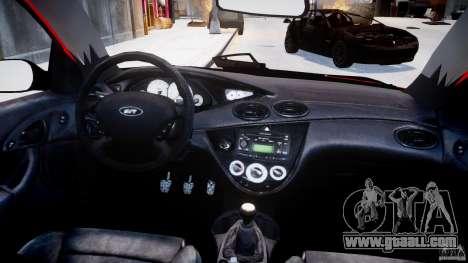 Ford Focus SVT WRC Street for GTA 4 upper view