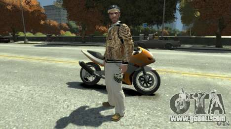 White clothes pack for GTA 4
