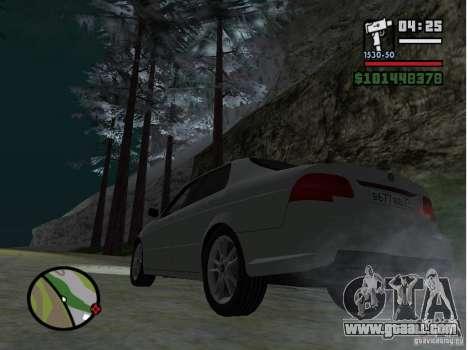 Winter Mod for GTA San Andreas second screenshot