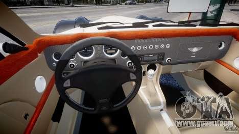 Morgan Aero SS v1.0 for GTA 4 back view