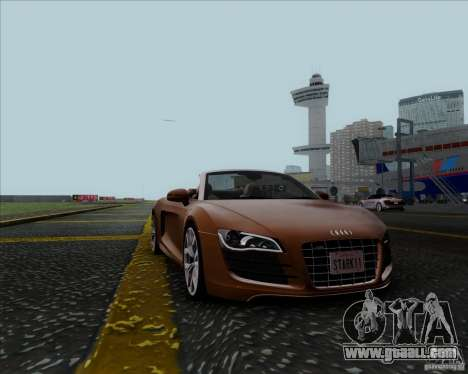 Audi R8 Spyder for GTA San Andreas