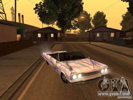 New Savanna-new paint work for GTA San Andreas