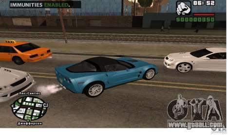 Infinite car health for GTA San Andreas