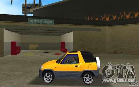 Toyota RAV4 L 1994 for GTA Vice City left view