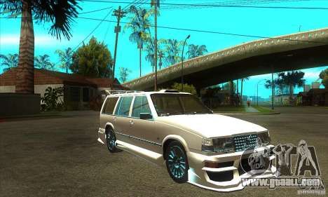 Volvo 945 Wentworth R with bodykit (1.2) for GTA San Andreas back view