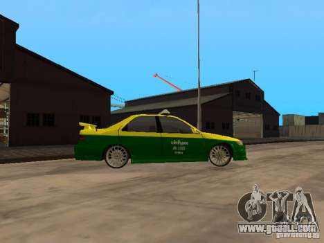 Toyota Camry Thailand Taxi for GTA San Andreas right view