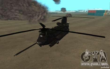 MH-47G Chinook for GTA San Andreas