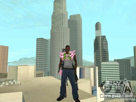 Weapons Pack for GTA San Andreas second screenshot