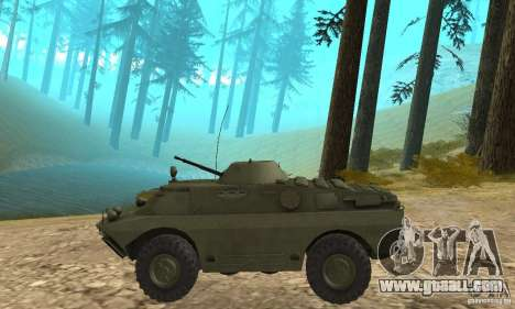BRDM-2 Standard Edition for GTA San Andreas back left view