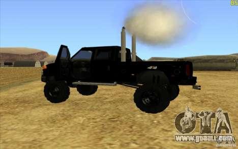 GMC Topkick Ironhide TF3 for GTA San Andreas left view