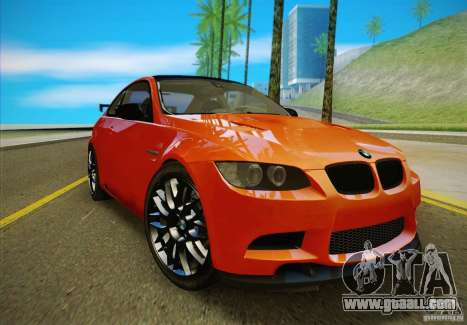 BMW M3 GT-S Final for GTA San Andreas right view