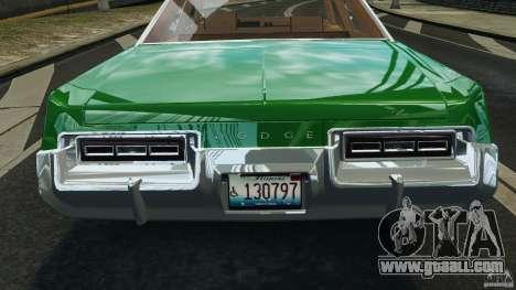 Dodge Monaco 1974 Taxi v1.0 for GTA 4