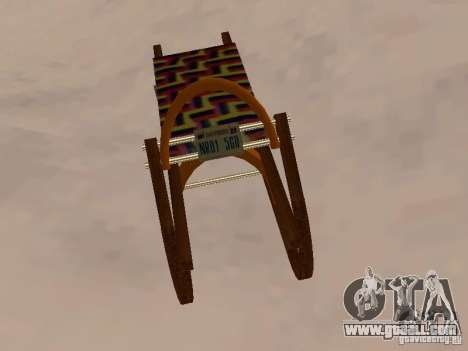 Sledge v2 for GTA San Andreas back view
