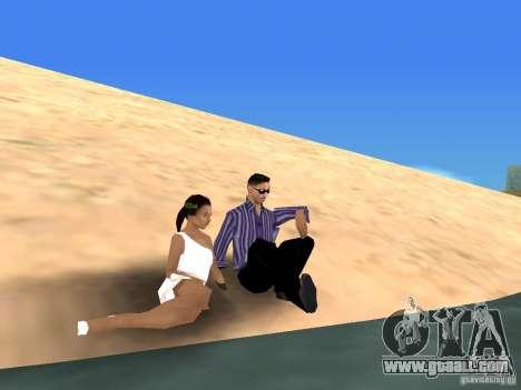 Road trip for GTA San Andreas