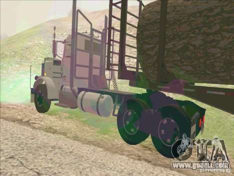 Peterbilt 379 for GTA San Andreas back left view