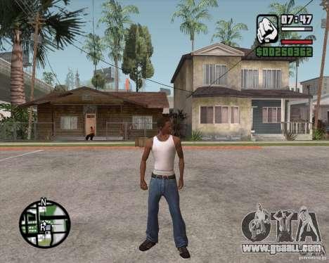 GTA 4 Anims for SAMP v2.0 for GTA San Andreas second screenshot