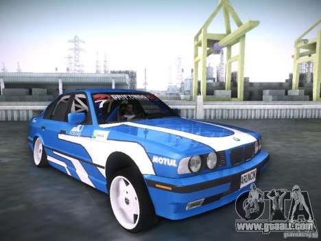 BMW E34 Drift for GTA San Andreas right view