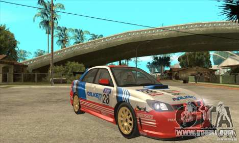 Subaru Impreza WRX STI 2006 for GTA San Andreas side view