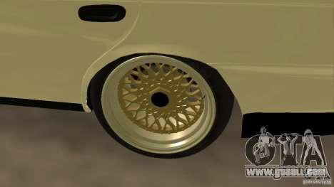 Toyota Corolla Tuned for GTA San Andreas right view