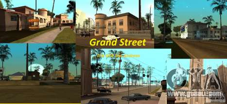 Grand Street for GTA San Andreas