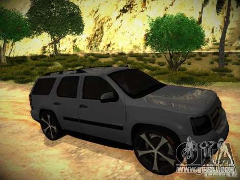 Chevrolet Tahoe HD Rimz for GTA San Andreas right view