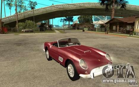 Ferrari 250 California 1957 for GTA San Andreas back view