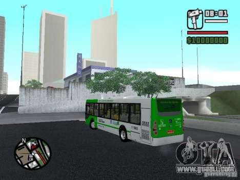 H Hibrido TUTTO 15M UPB C2 EX DR for GTA San Andreas left view