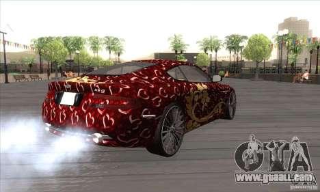 Aston Martin DB9 Female Edition for GTA San Andreas right view
