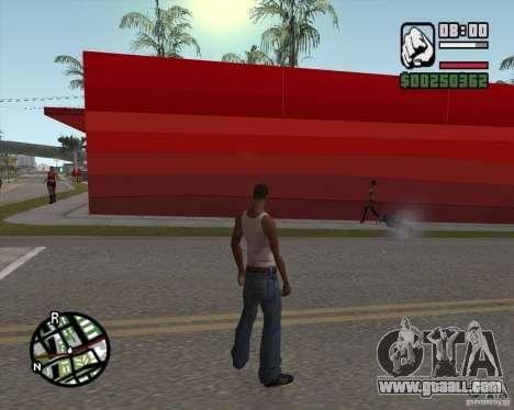 Shop Ecko for GTA San Andreas forth screenshot