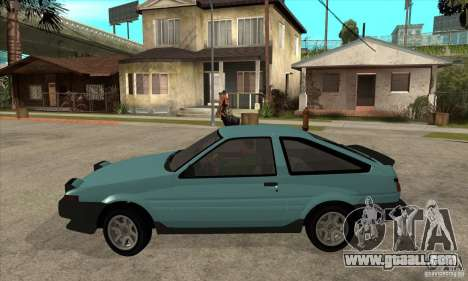 Toyota Corolla GT-S - Stock for GTA San Andreas left view
